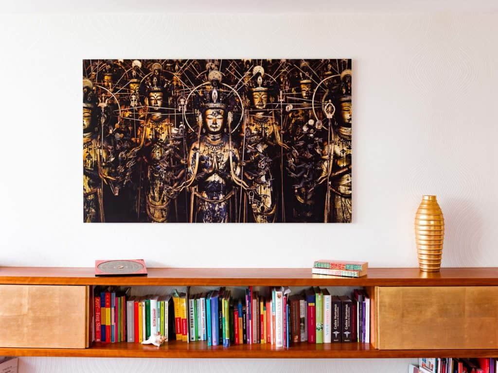 Feng Shui Beraterin Petra Coll Exposito zeigt ihr Zuhause