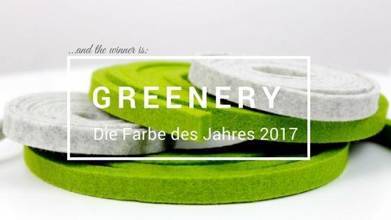 Die Farbe des Jahres 2017 ist Greenery.