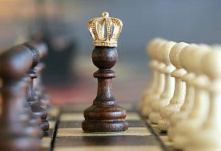 Schach der König