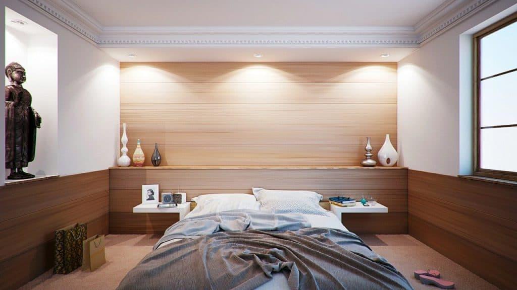 Ein Schlafzimmer nach Feng Shui