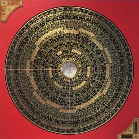 Quadratische Bild von der Luo Pan Kompass
