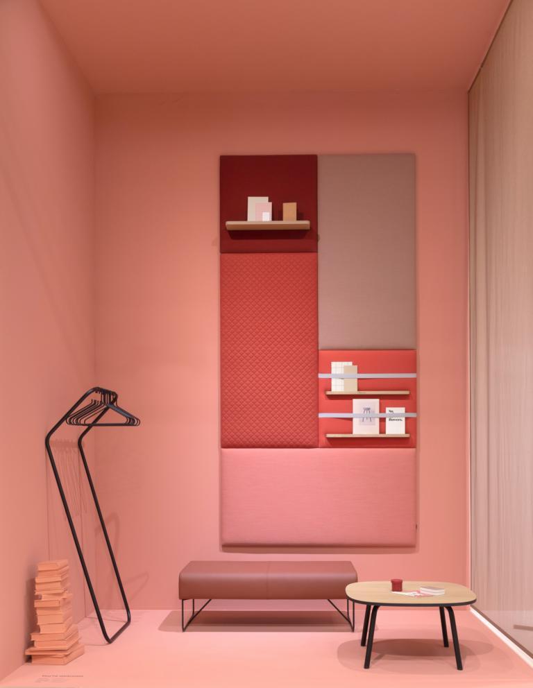 Ein Raum in der Feng Shui Farbe Pink - Wohntrends 2020