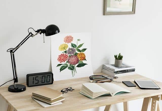 Feng Shui Schreibtisch